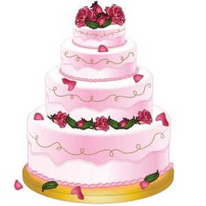 My Easy Recipes   Best Wedding Cake Clip Art