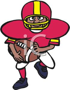 Seivo   Image   Cute Football Player Clip Art   Seivo Web Search