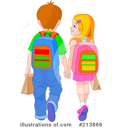 Student Walking Clipart - Clipart Kid