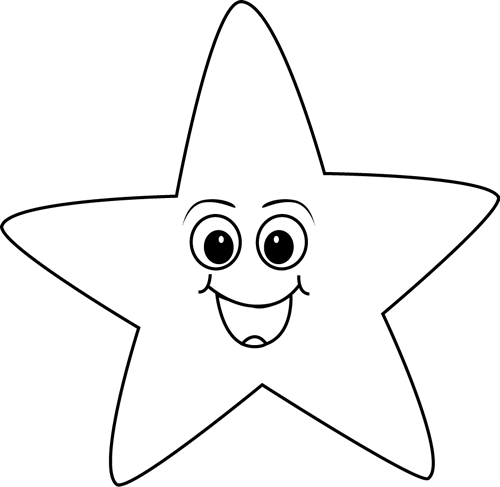 Cute Smiling Star Clipart - Clipart Suggest