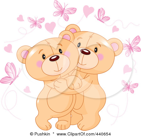 440654 Royalty Free Rf Clip Art Illustration Of Cute Teddy Bears