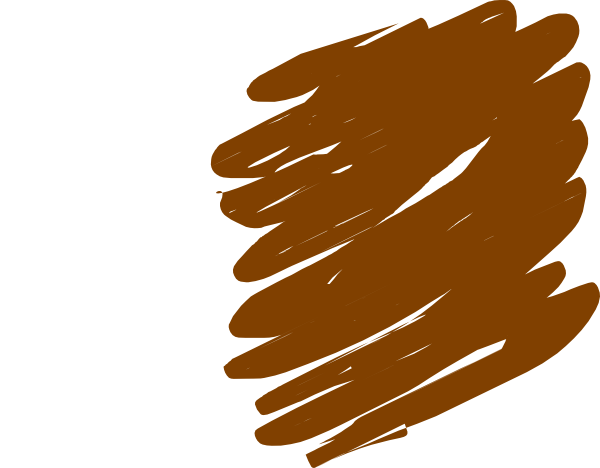Crayon Scribble Drawing : Brown crayon clipart suggest