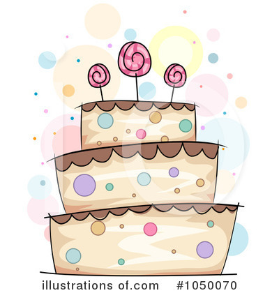 Cake Clipart  1050070 By Bnp Design Studio   Royalty Free  Rf  Stock