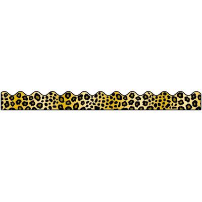 Cheetah Print Border Clipart Clipart Suggest