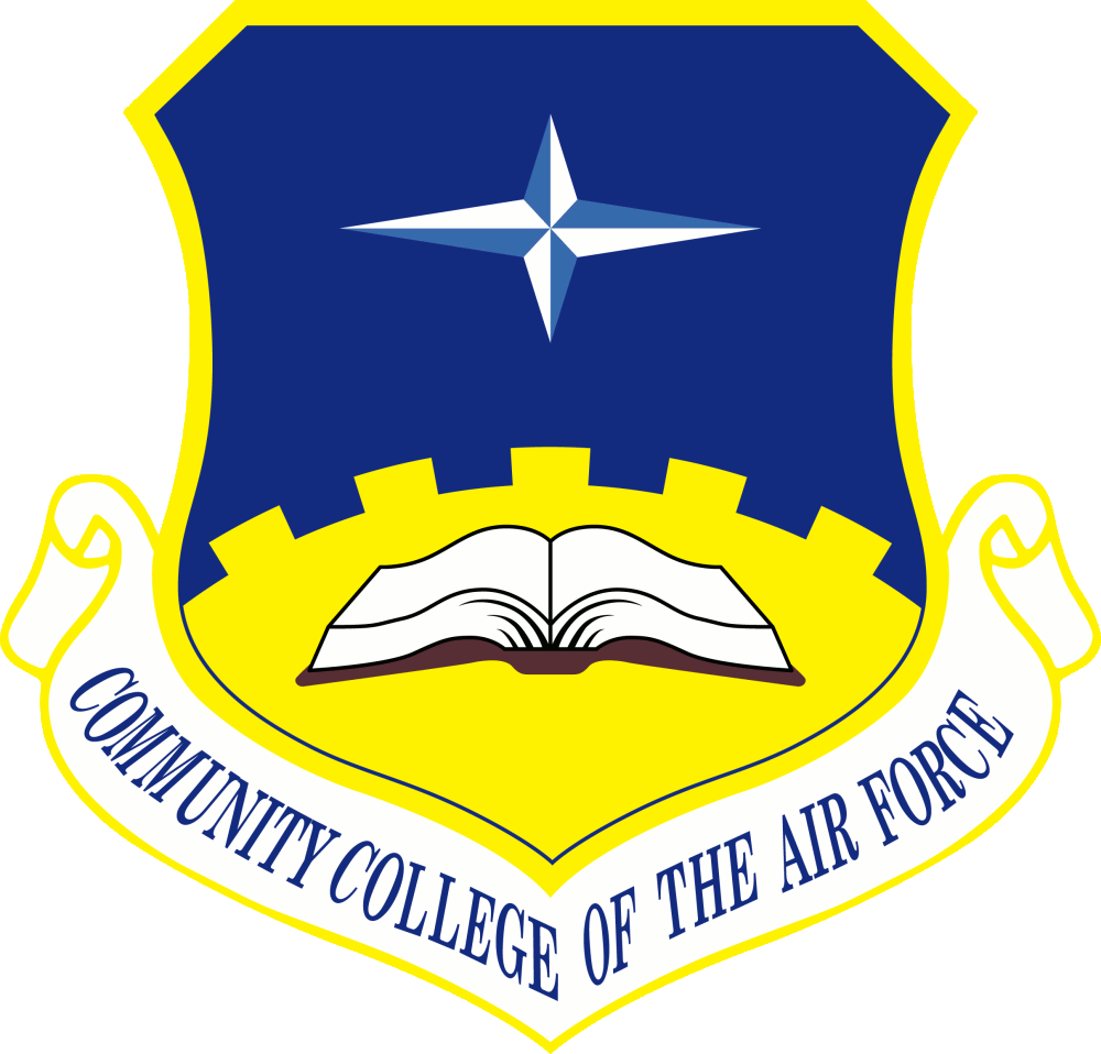 Description Community College Of The Air Force Png