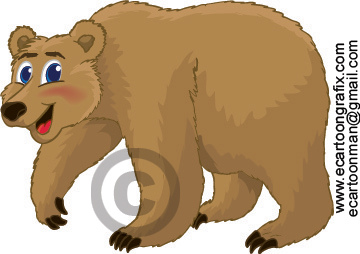 Grizzly Bear Cartoon 2   Flickr   Photo Sharing