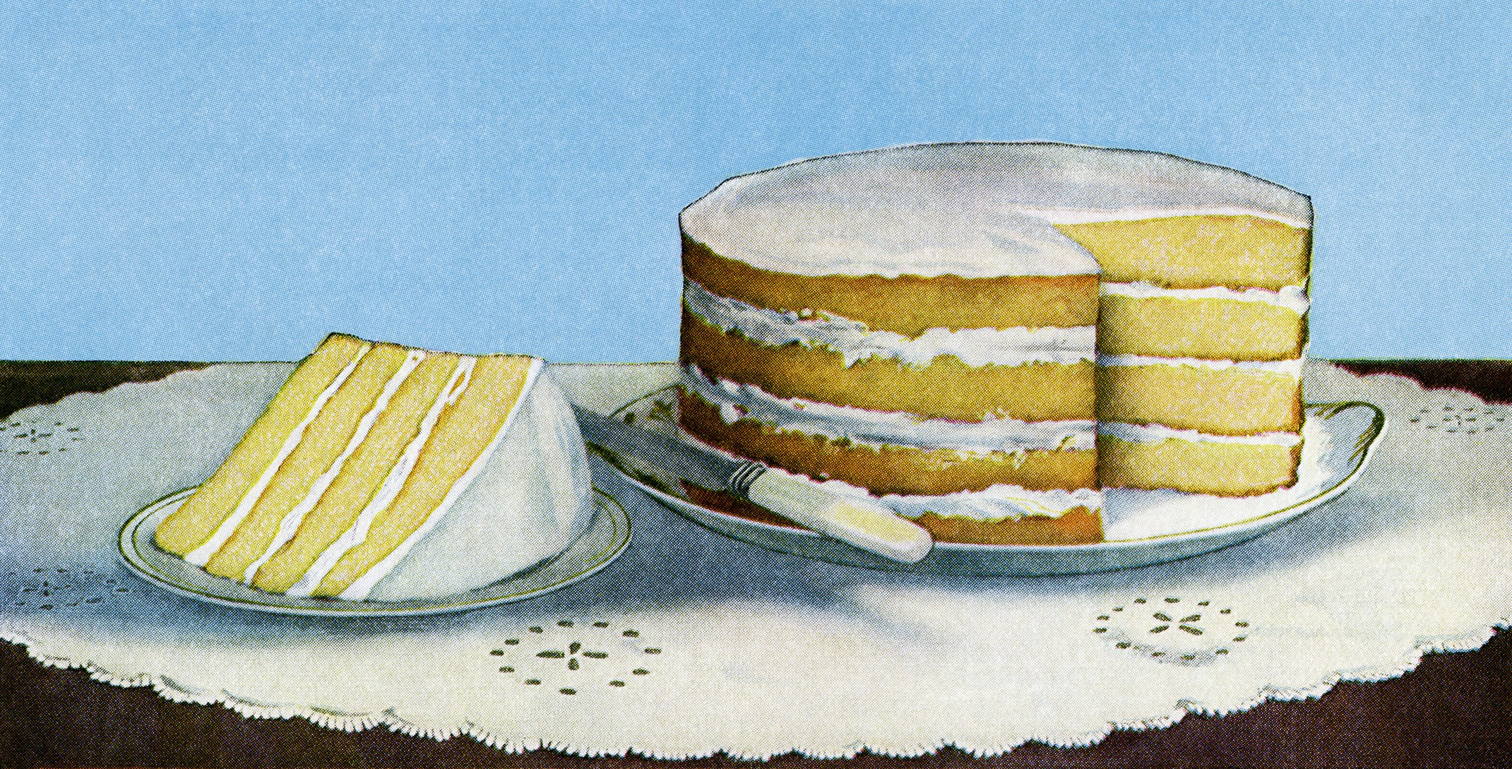 Layer Cake Image Cake Printable Vintage Food Clipart Old Fashioned