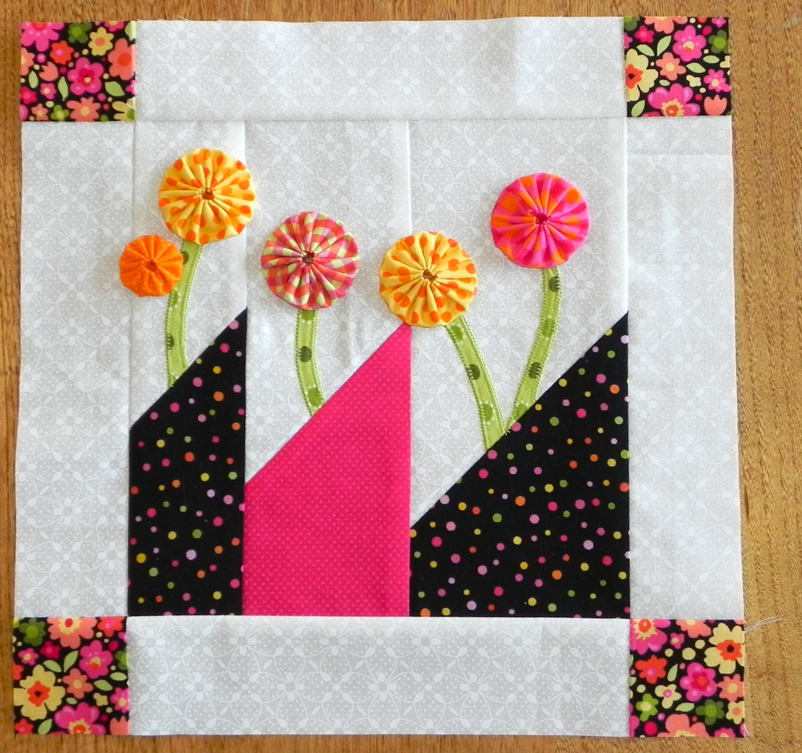 Layer Cake Quilt Along Half Way Point