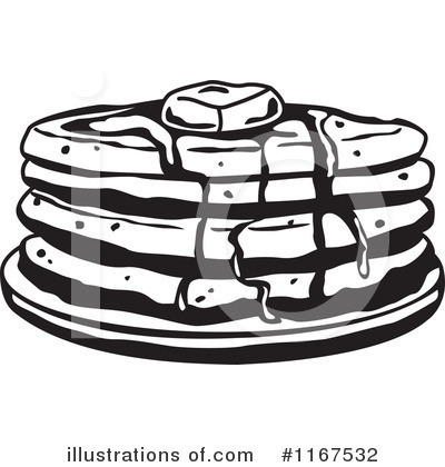 Pancakes Clipart  1167532   Illustration By Andy Nortnik