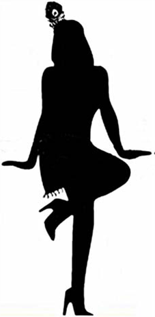 Roaring 20s Silhouettes Clipart   Free Clip Art Images