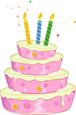 Tags Cake Usage To Insert Big Pink Birthday Cake Clip Art On To Your