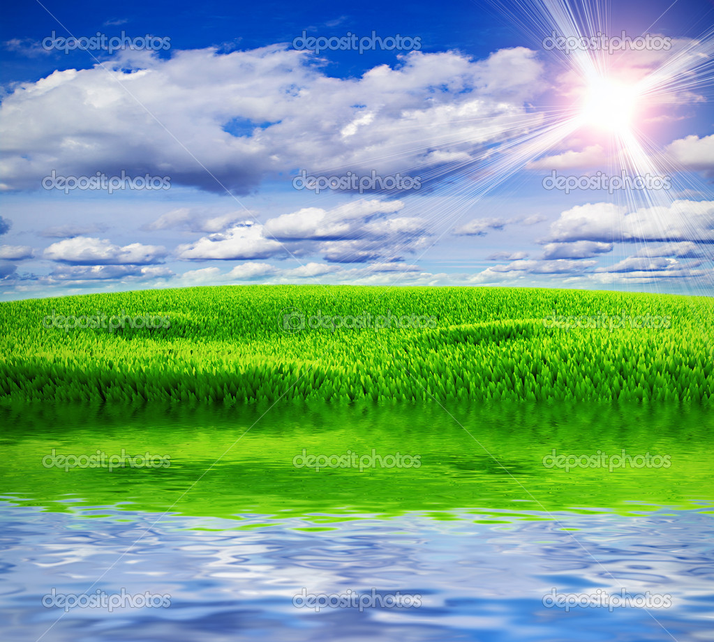 Beautiful Nature Clipart   Stock Photo   Articoufa  1323479