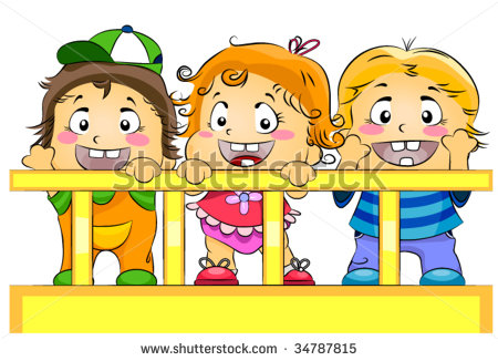 Daycare Building Clipart Toddlers In Crib  Day Care