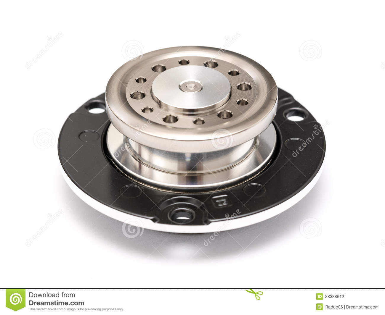Hard Disk Drive Spindle Wheel Cog Stock Photography   Image  38338612