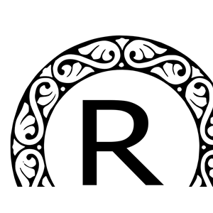 letter r monogram clipart cliparts of letter r monogram free download