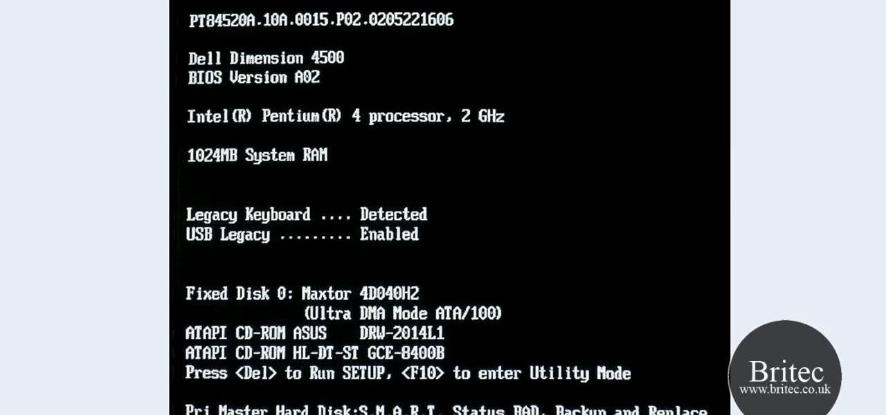 Pri Master Hard Disk   S M A R T Status Badbackup And Replace