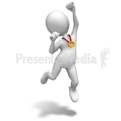 Winner Gold Medal   Sports And Recreation   Great Clipart For