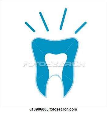 And Treatment Icons Medical Care Tooth View Large Clip Art Graphic