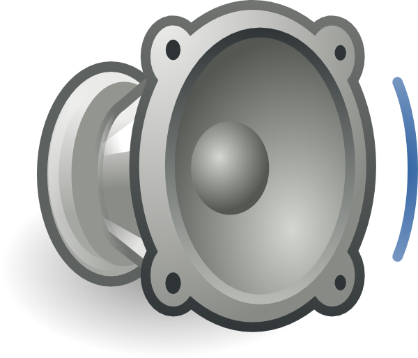 Audio Volume Low Clip Art