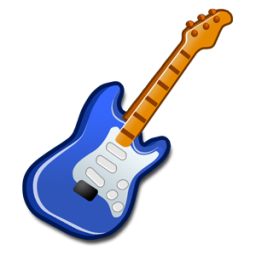 Blue Guitar Clipart - Clipart Kid