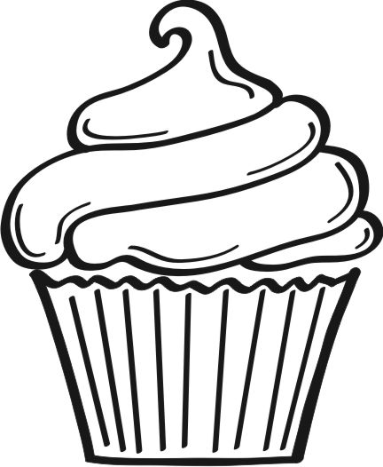 Cupcake Silhouette Clip Art   Cliparts Co