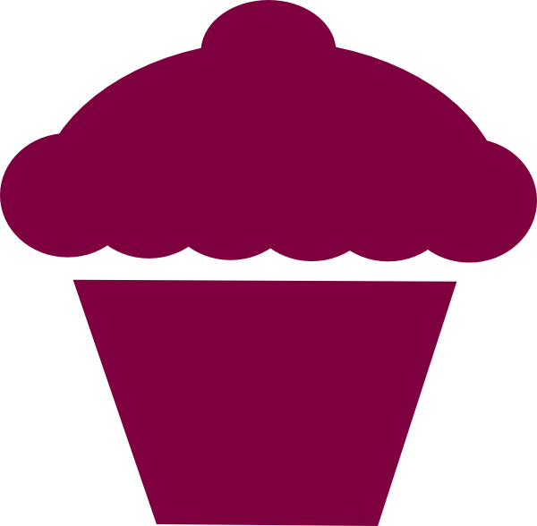 Cupcake Silhouette Clipart Clipart Suggest