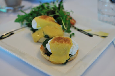 Deconstructed Eggs Florentine