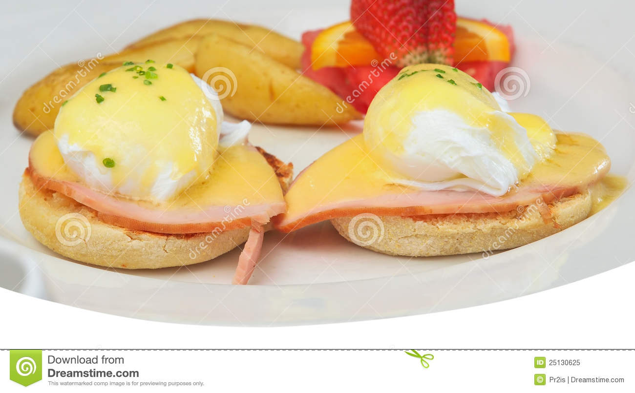 Eggs Benedict Royalty Free Stock Photo   Image  25130625
