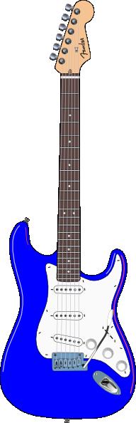 Electric Blue Guitar C...