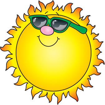 Fun In The Sun Clip Art   Clipart Best