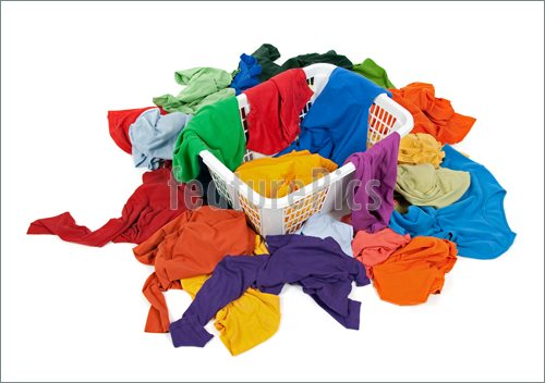 Messy Pile Of Books Clip Art Bright Messy Clothes In A
