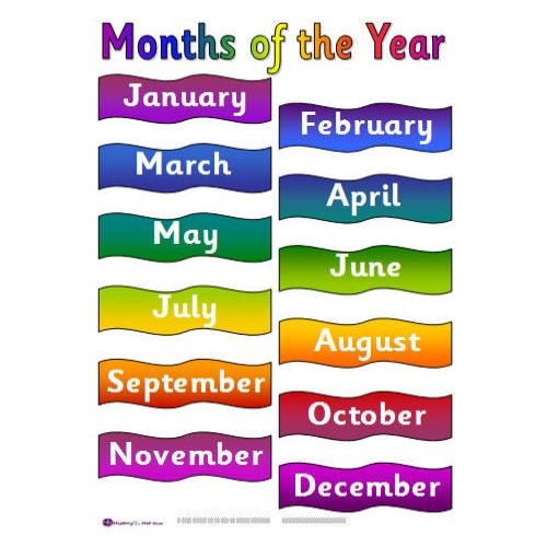 Number Names Worksheets worksheet for months of the year : Months Of The Year Worksheet Kindergarten - Intrepidpath