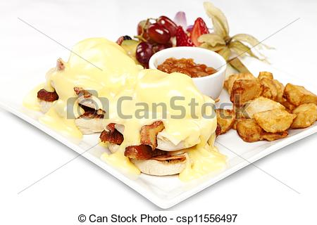 Of Double Stacked Eggs Benedict   Double Stacked Eggs Benedict