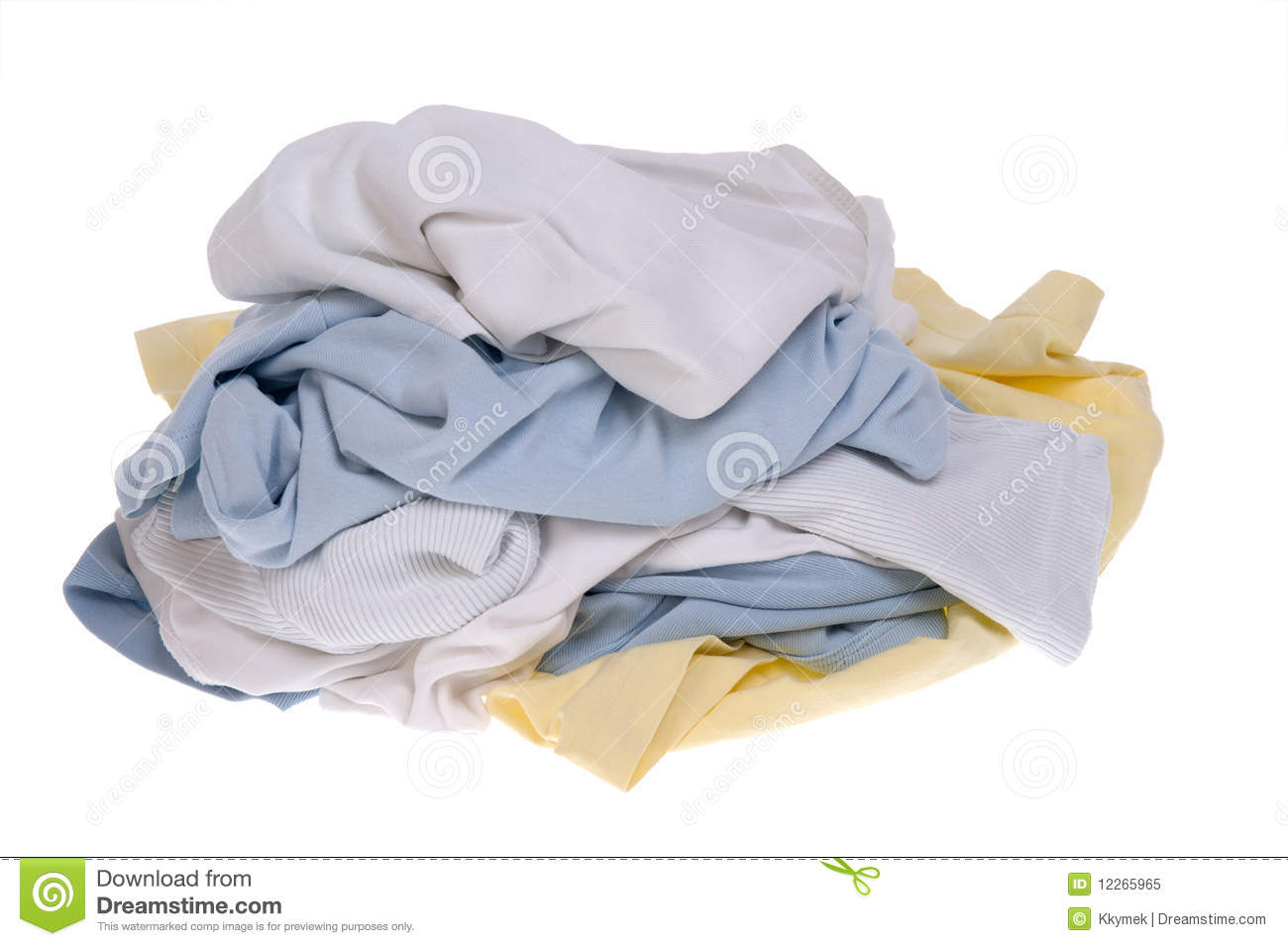 Pile Of Dirty Clothes For The Laundry Royalty Free Stock Photo   Image