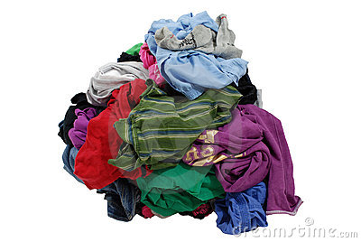 Pile Of Dirty Laundry Stock Photos   Image  13648363