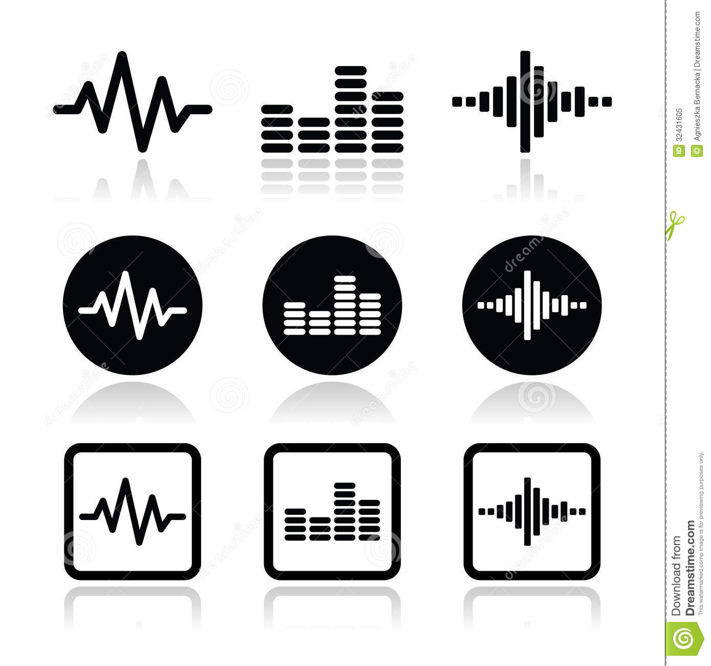 Sound Wave Clip Art Sound Wave Clipart Viewing Gallery