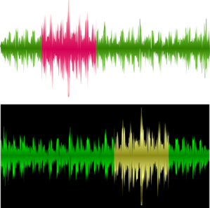 Sound Wave Recording Clip Art At Clker Com   Vector Clip Art Online