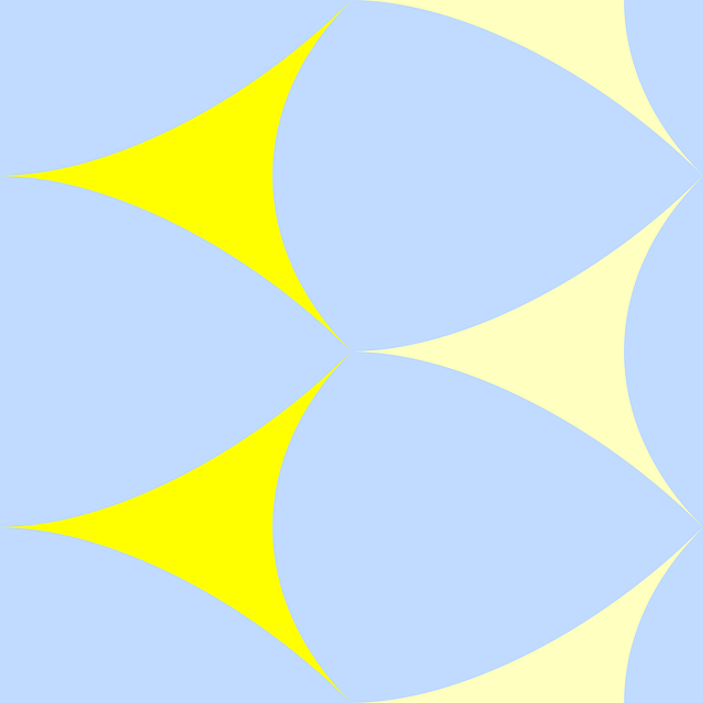 Yellow Pattern White Triangle Special Tile Arrows