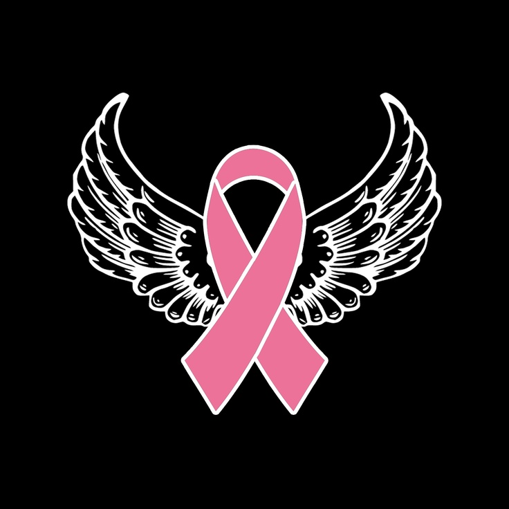 Cancer Ribbon Angel Clipart Clipart Suggest