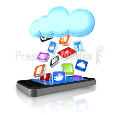 Clip Art Clip Art App clip art locked app clipart kid apps falling from cloud into smart phone signs and symbols great