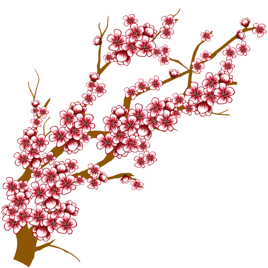 Blog Not Found: Cherry Blossom Tree Clipart