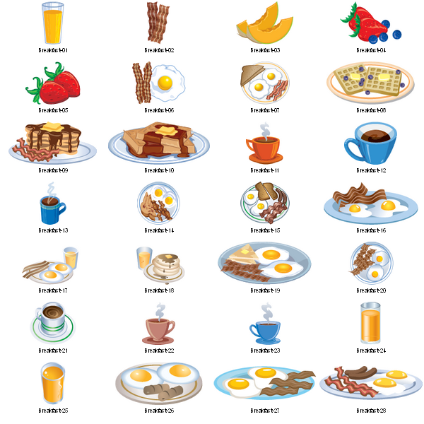 Christmas Breakfast Clipart - Clipart Kid