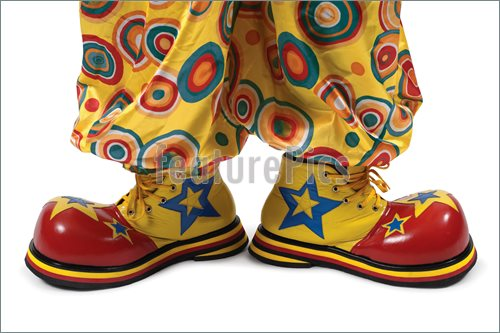Clown Shoes Pics  Stock Image To Download At Featurepics Com