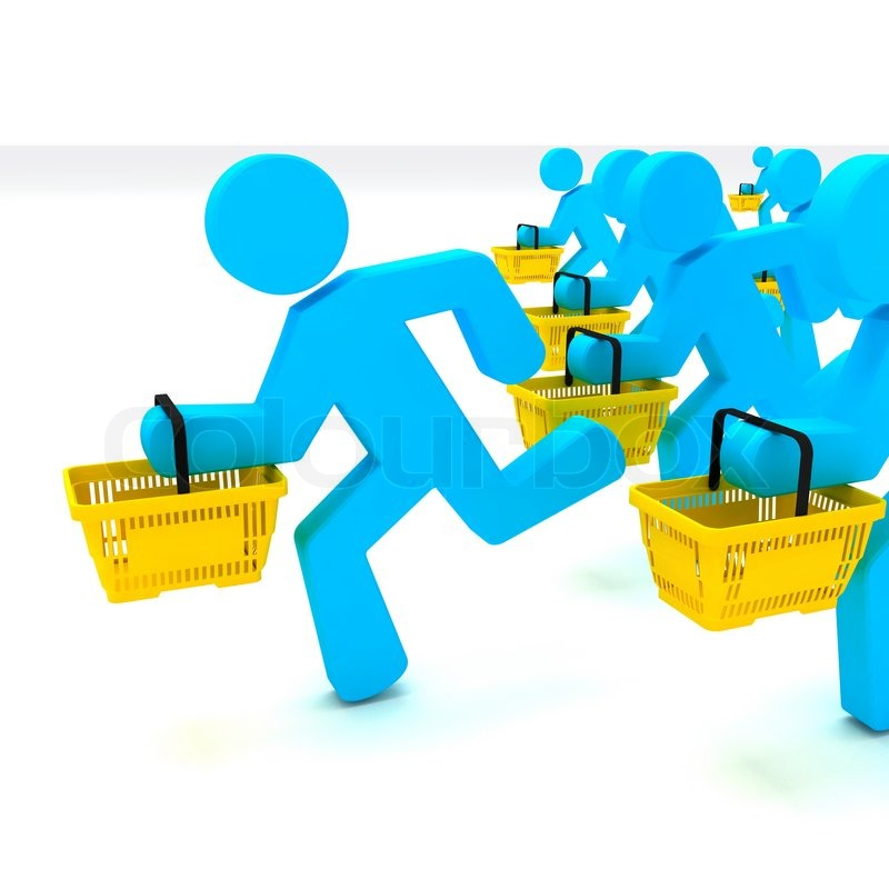 Customers Shopping Clipart - Clipart Suggest