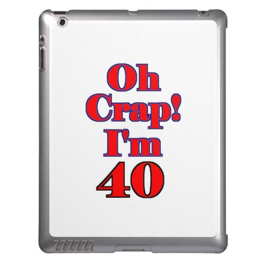Funny 40th Birthday Clipart Picture
