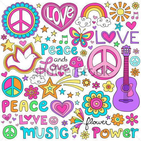 Inicio   Premium   Desconocido   Paz Amor Y Una Paloma Flower Power