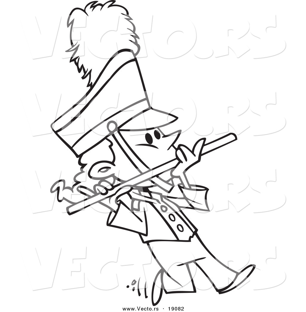 Marching Band Instruments Clipart Free Flute Stock Clipart