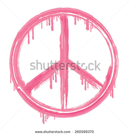 Peace And Love Sign Illustration Typography T Shirt Graphics