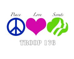 Peace Love Scouts 1 More