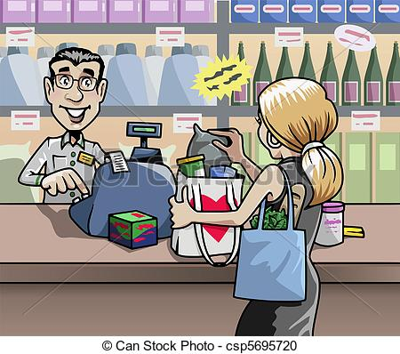The Shop   Stock Illustration Royalty Free Illustrations Stock Clip